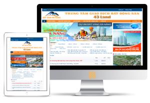 Website Địa ốc - Bất động sản