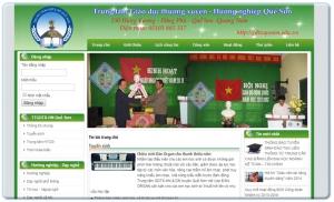 Website Trường học - Giáo dục