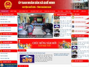 Công ty Phan Gia Huy bàn giao website cổng thông tin điện tử xã Quế Minh