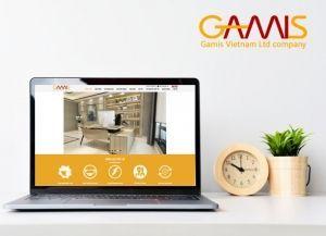 Thiết kế website công ty nội thất Gamis