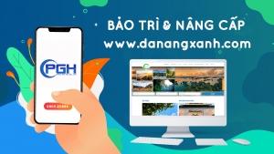 Phan Gia Huy bảo trì và nâng cấp website cho Cty Du Lịch Đà Nẵng Xanh