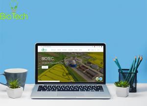 Thiết kế website BIOTEC - nhà sản xuất phân bón sinh học