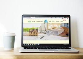 Thiết kế Website cho công ty xây dựng HÒA BÌNH XANH.