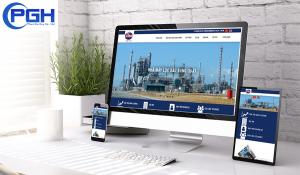 Thiết kế website công ty cổ phần Lilama 7