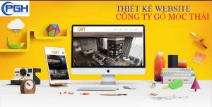Thiết kế Website công ty gỗ Mộc Thái