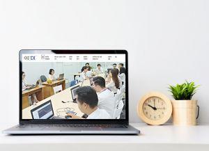 Thiết kế website công ty tài chính chứng khoán GFDI