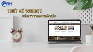 Thiết kế Website công ty TNHH Tuấn Hòa