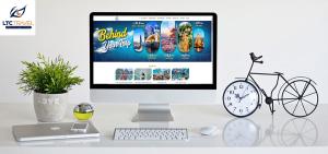Thiết kế website du lịch cho công ty LTCTRAVEL