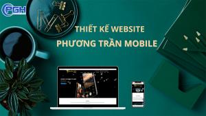 Thiết kế website Phương Trần Mobile