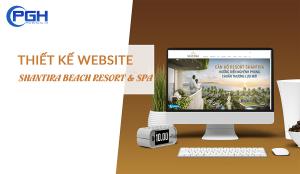 Thiết kế Website Shantira Beach Resort & Spa