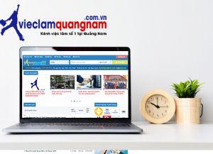 Thiết kế website tuyển dụng, tìm việc làm Quảng Nam
