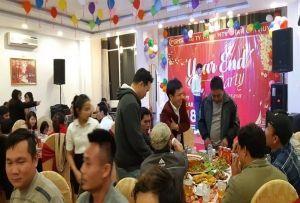 Tiệc tất niên Phan Gia Huy 2017 - cảm xúc bùng nổ