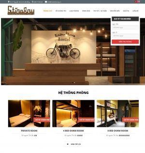 Xây dựng và phát triển website Stringray Hostel