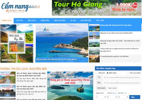 Cẩm nang thông tin du lịch