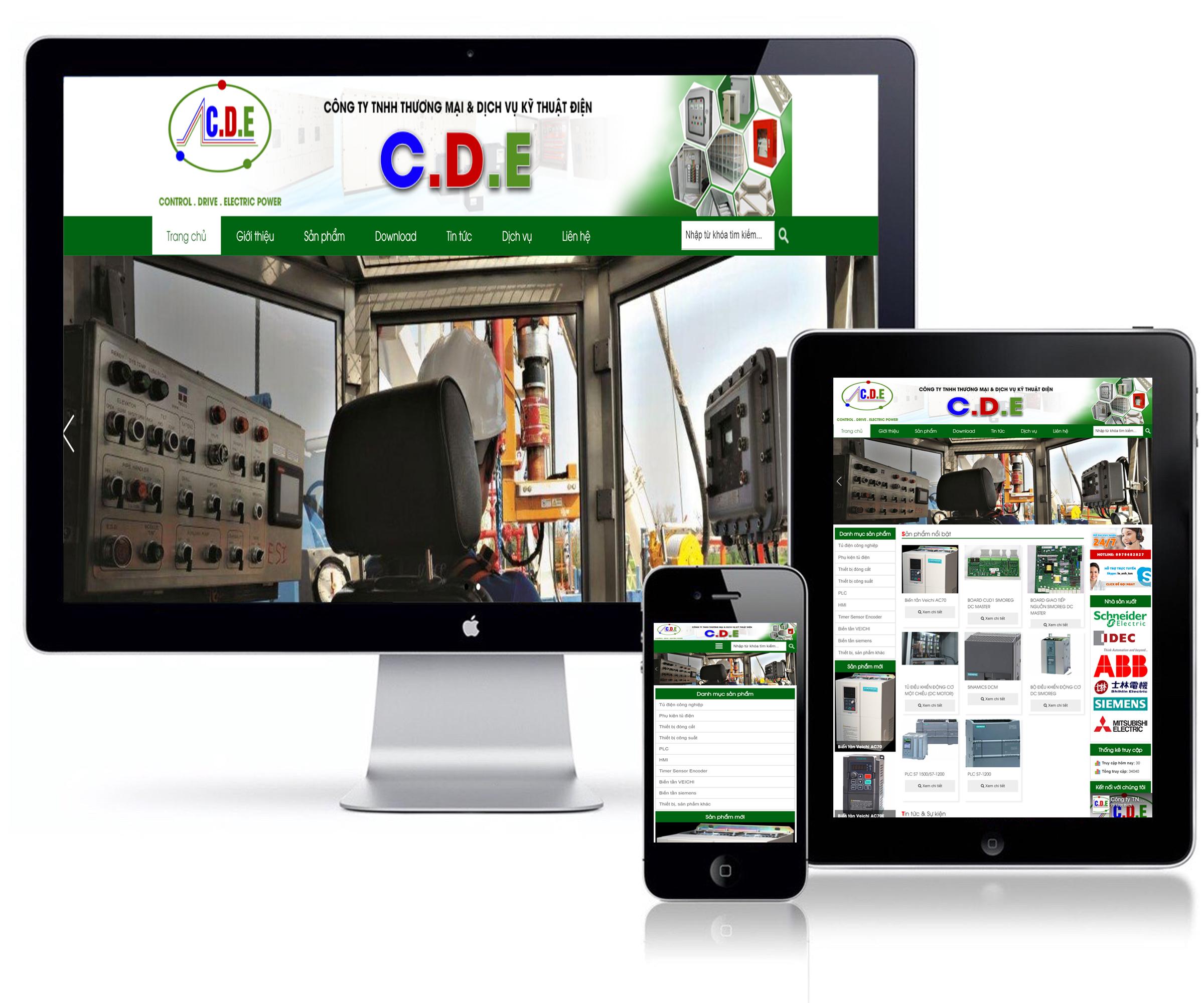 Công ty TNHH TM & DV kỹ thuật điện C.D.E